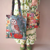 UC - NL252 Nathalie Lete Animal Bag Owl