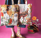 UC - NL249 Nathalie Lete Animal Bag Fawn