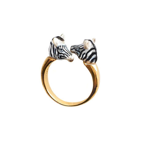 NB - BB71 Zebra face to face ring