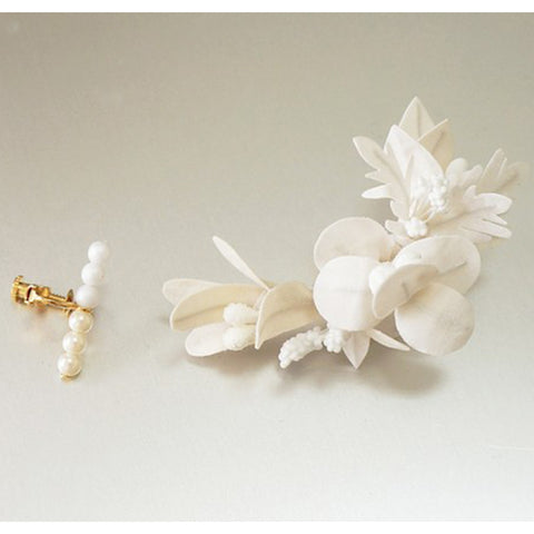 HFC - 927 Various Leaves & Pearls Ear Cuff