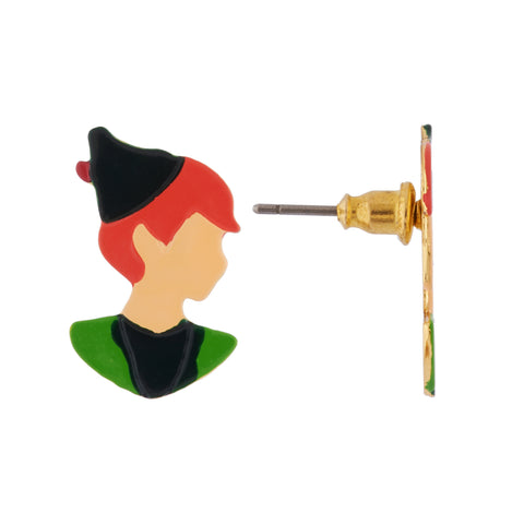 N2 - AHIL103 PETER PAN'S FACE EARRINGS