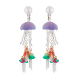 N2 - AHJS103 JELLYFISH EARRINGS