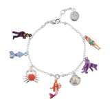 N2 - AHJS202 MULTI CHARMS OF THE UNDERWATER WORLD BRACELET