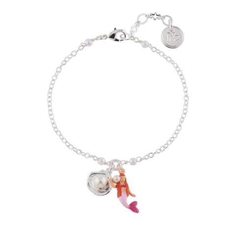 N2 - AHJS204 MERMAID AND SHELL BRACELET