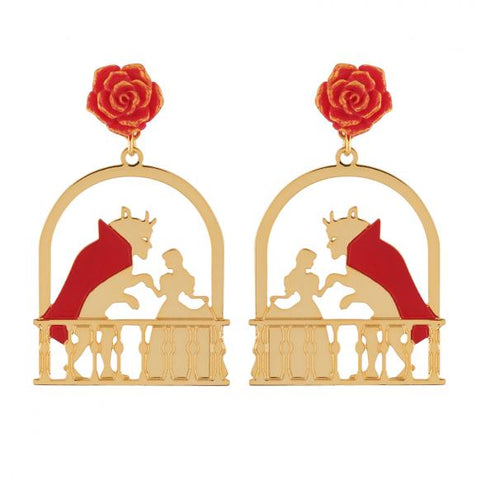 N2 - AIBE115 WALTZ TIME FOR THE BEAUTY AND THE BEAST EARRINGS