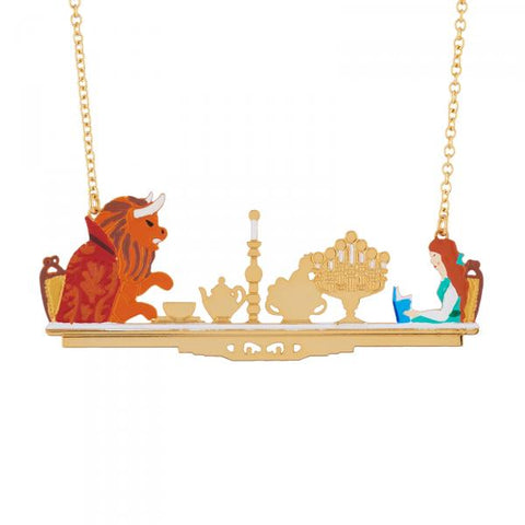 N2 - AIBE303 CANDLELIGHT DINNER BETWEEN THE BEAUTY AND THE BEAST NECKLACE