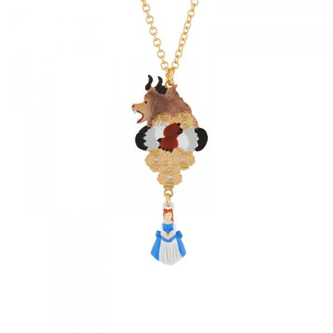 N2 - AIBE310 THE BEAST ON HIS SUNDAY BEST, GOLDEN ROSES AND THE BEAUTY CHARM NECKLACE