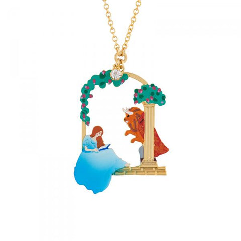 N2 - AIBE314 THE BEAST GAZING AT THE BEAUTY READING NECKLACE