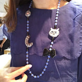 Necklace Cat White