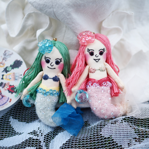 ES - Mermaid Doll Charm (Pre-order Only)