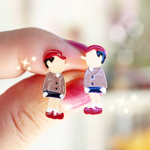 N2 - AHIL104 PINOCCHIO EARRINGS