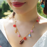 N2 - AIBE319 MULTI ELEMENTS OF THE BEAUTY AND THE BEAST NECKLACE