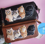 TM - SHO2827 / SHO2828 Pochette Sling Bag Cats