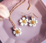 NB - U223 Flower&Bird necklace