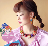 TM - OG2847 Mushroom NL Short Necklace doll