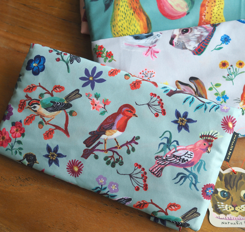 UC - NL292 Nathalie Lete Pocketable Eco Bag Birds