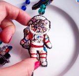 TM - NEK2902 Necklace Astronaut & Alien (ET)