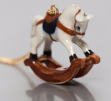 NB - U088 Necklace Mini Rocking Horse