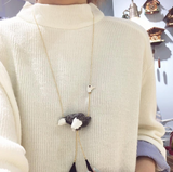 NB - U128 Necklace Ostrich