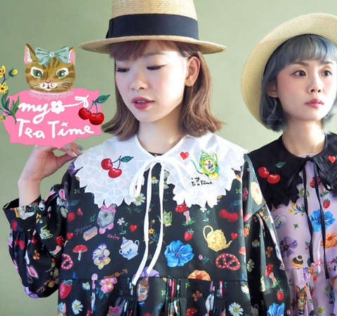 NL - SSMR-100 Cat & Rabbit Dress