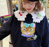 NL - SSMR-098 Embroidery Sweater