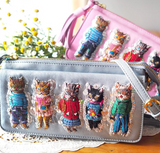 TM -  NL Cats Garden Sling Bag