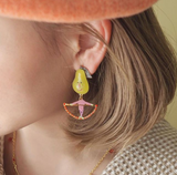 N2 - ANFC102 FRUIT CIRCUS Earrings