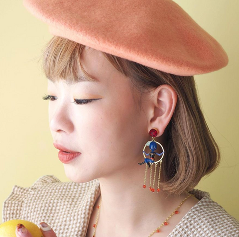 N2 - ANFC101 FRUIT CIRCUS Earrings