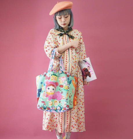 NL - SSMR-107 Market Bag Doll