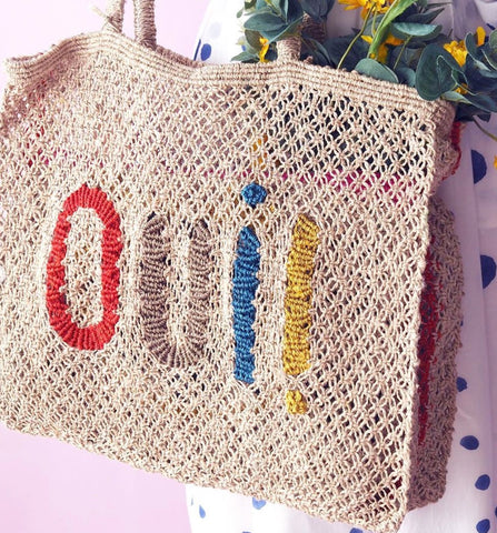 TJ - 037 Oui! Natural with Multi Colour