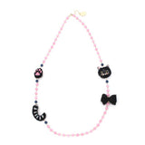 Necklace Cat Black