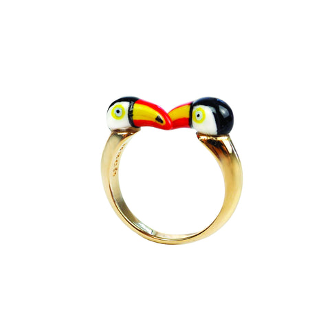NB - BB69 Toucan face to face ring