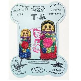 TM - MBC2267 Badge Russia Doll