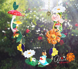 N2 - AMAL301 ALICE IN THE FLOWER KINGDOM COLLAR NECKLACE