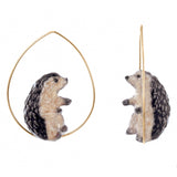 NB - J060 Hedgehog Earring
