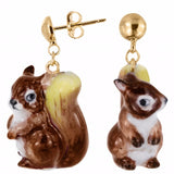 NB - J080 Squirrel Earring