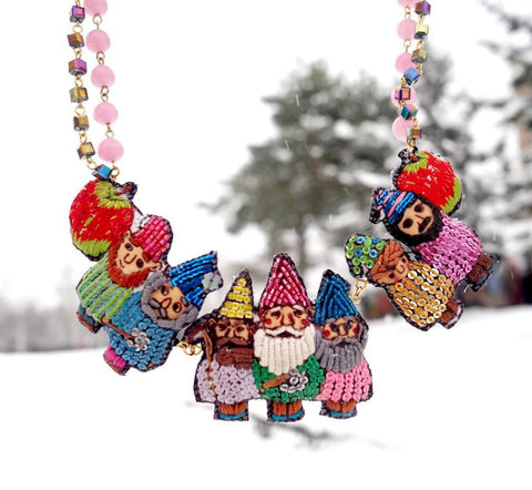 TM - Seven dwarfs necklace