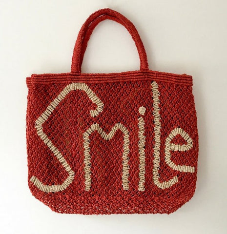 TJ - Smile Jute Bag
