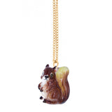 NB - Squirrel Mini Necklace