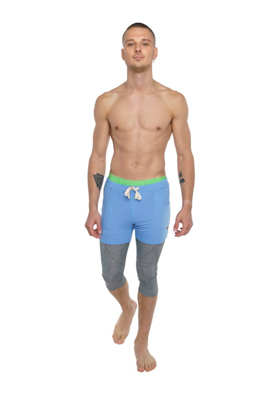 Transition Yoga Short (Ice Blue)