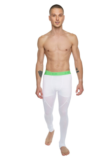 Performance Yoga Leggings - Long (Arctic White)