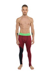Performance Yoga Leggings - Long (Brick Red Heather)