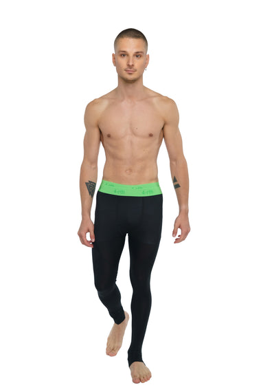 Performance Yoga Leggings - Long (Carbon Black)