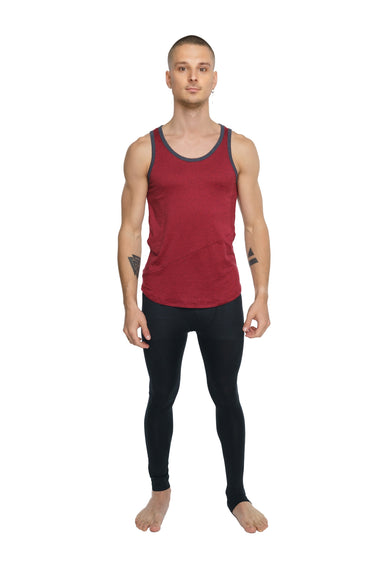 The Perfect Tank (Brick Red Heather) Mens Tanks 4-rth