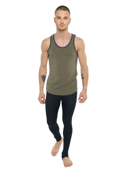 The Perfect Tank (Olive Heather) Mens Tanks 4-rth