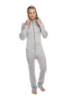 **Winter Collection** MID-Weight LUXURY-Performance Fleece Track & Lounge Pant (Stainless Steel Grey)