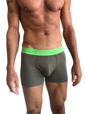 Zen Boxer Brief (Rainforest Army Green)