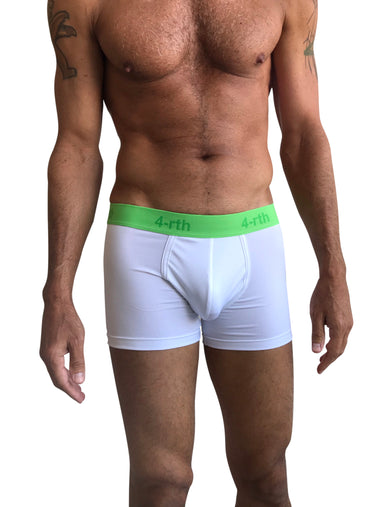 Zen Boxer Brief (White)