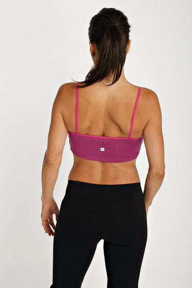 Bra Top (Plum) Womens Bra Tops 4-rth