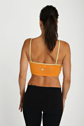 Bra Top (Tangerine) Womens Bra Tops 4-rth